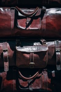 Three travel bags